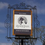 Horse & Groom Inn Sign