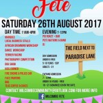 Poster Summer Fete 2