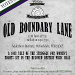 POSTER Old Boundary Lane